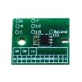 Chip permanente per Roland All Printer Ciano